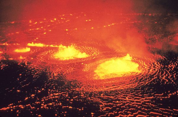eruptions of kilauea. May 1954 eruption of Kilauea