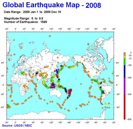 earthquakes-map-2008