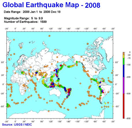 earthquakes-map-2008