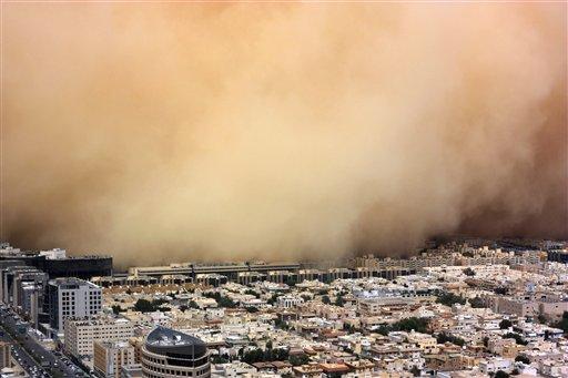 APTOPIX Mideast Saudi Arabia Weather