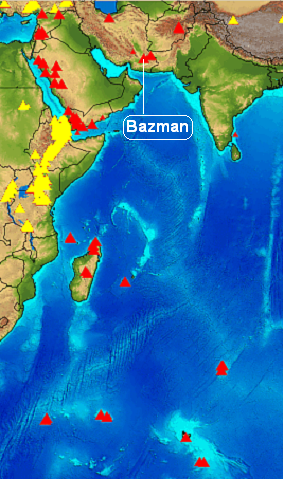 bazman-volcano