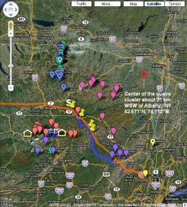 ne pa gas exploration central ny wells epicenter of the mainshock