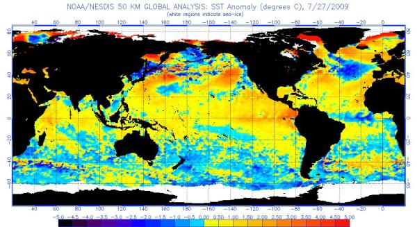 Current SST Anomalies