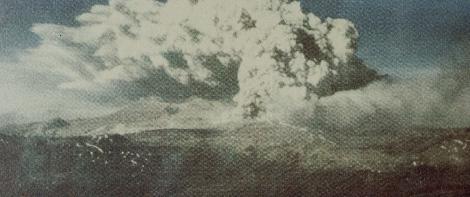 Eruption of Puyehue - 1960