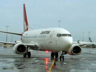 qantas flight