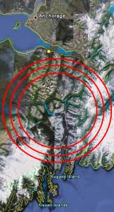 Alaska earthquake forecast