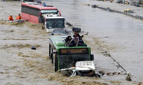 Istanbul flash floods