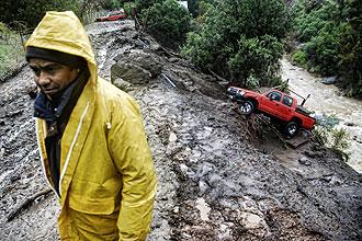 Landslide- Chile - AFP