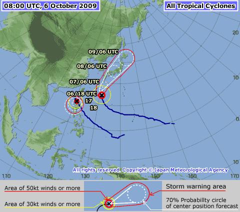 JMA Typhoon Melor