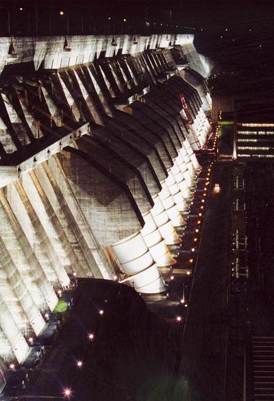 turbines at itaipu binacional - 2