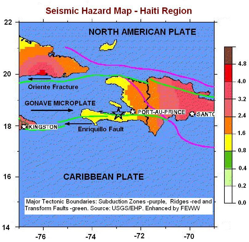 maps of haiti earthquake. Haiti earthquake occurred as a
