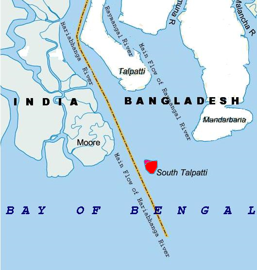 Where Is The Bay Of Bengal Located On A World Map The location map of ...