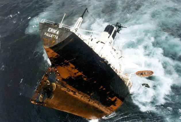 Erika oil tanker sinking