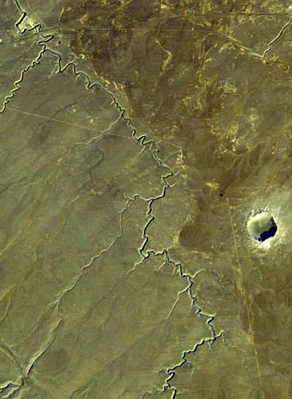 Meteor+crater+that+killed+the+dinosaurs