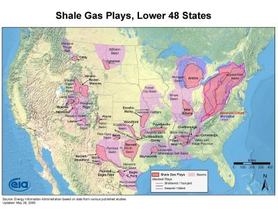 Hydraulic Fracturing Fire Earth - Map of hydraulic fracturing sites us