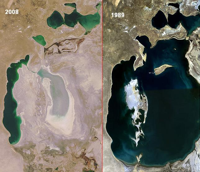 """UNSG Calls Aral Sea """"Shocking Disaster"""" « Fire Earth"""