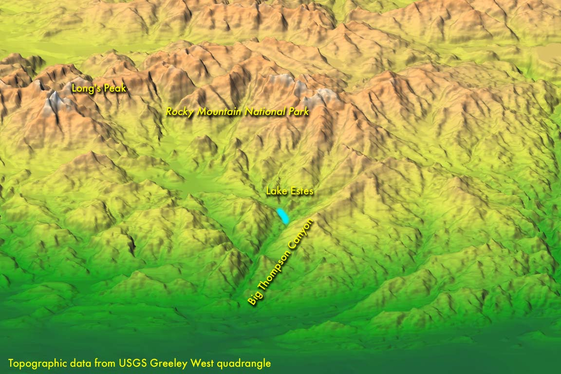 Disasters: Big Thompson Canyon, Colorado   Fire Earth on