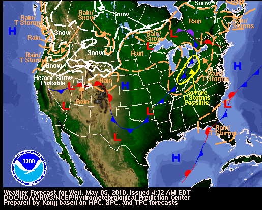 US Weather at a Glance Fire Earth