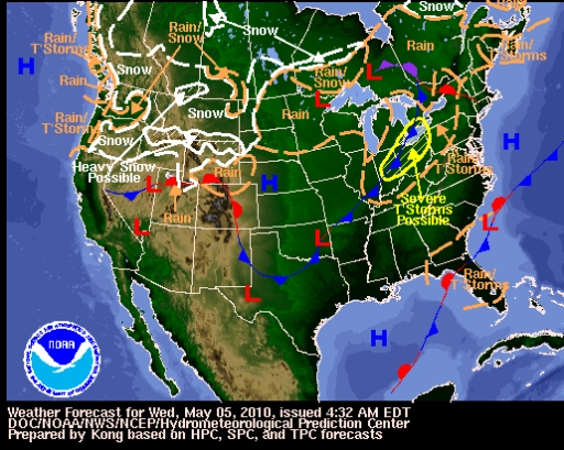 US Weather Forecast « Fire Earth