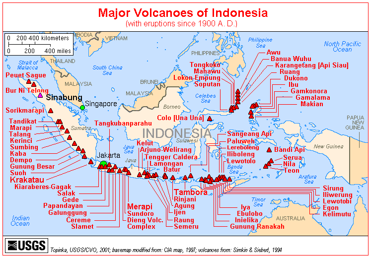 Mt Merapi « Fire Earth on mt kelud map, kelut indonesia map, mount sinabung map,