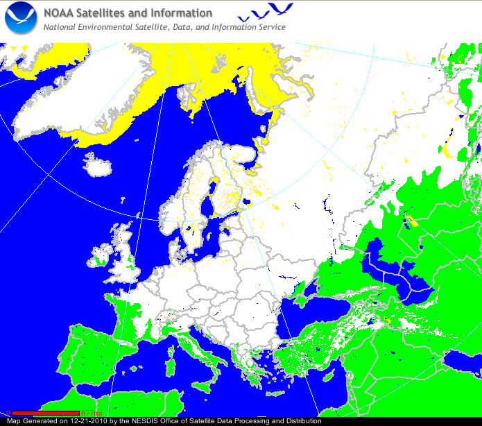 Snow Cover Map Europe ~ CINEMERGENTE