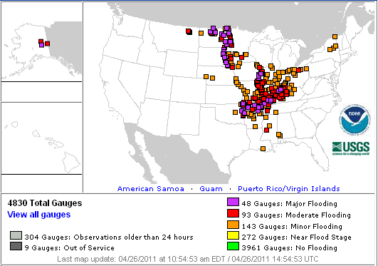 US Flood Map Fire Earth - Map of flooding in us