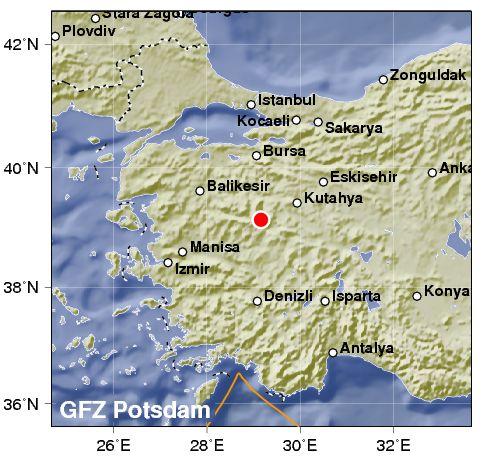 Shallow Quake Strikes Western Turkey « Fire Earth