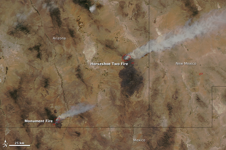 Arizona Active Fire Map.Arizona Fires Fire Earth