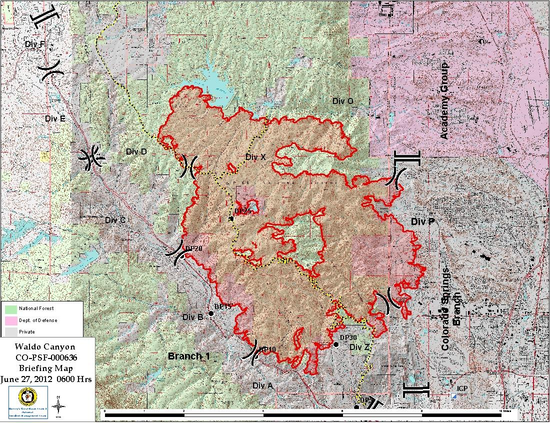 Collier County Wildfire Map.High Park Fire Fire Earth