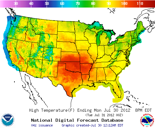 US temps « Fire Earth