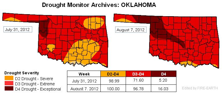 Oklahoma Drought Map Awesome Oklahoma Drought Map Pics   Printable Map   New  Oklahoma Drought Map