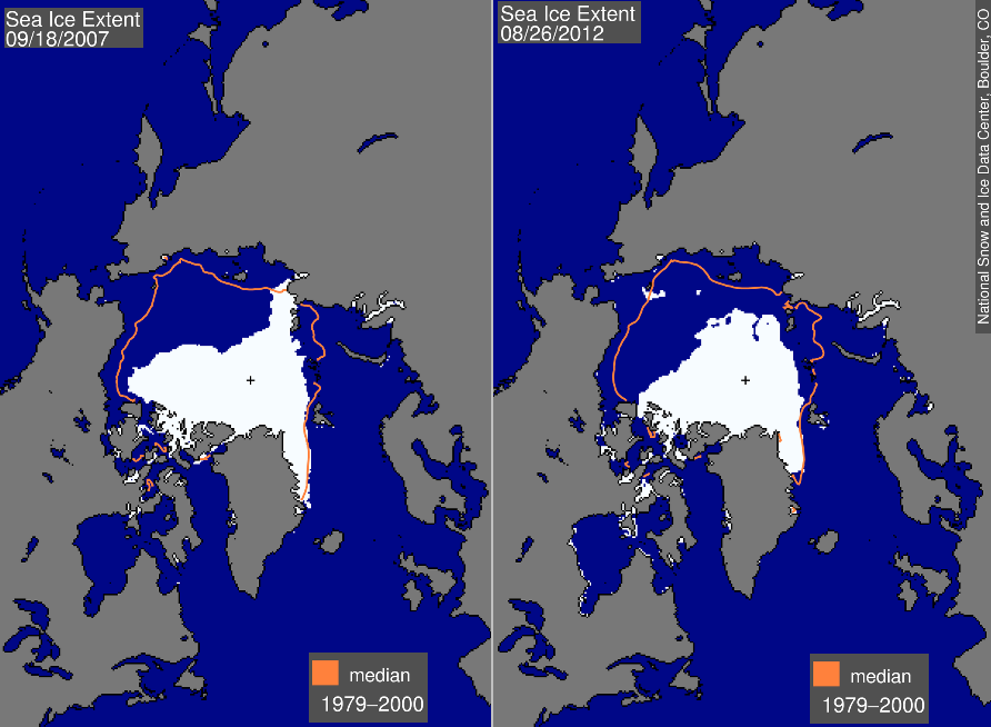 arctic sea ice coverage drops to record low essay Due in part from soaring arctic temperatures and el niño, march 24 likely set a new record low arctic sea ice maximum, continuing the 13-year trend.