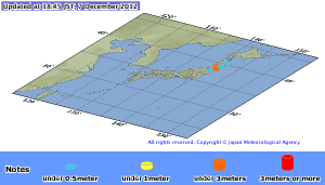 Japan Tsunami JMA -update