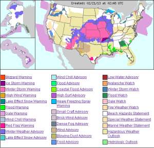us weather hazmap