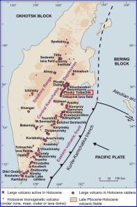 Holocene Volcanoes in Kamchatka