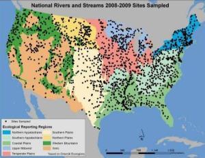 NRSA sample sites