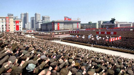 pyongyang rally