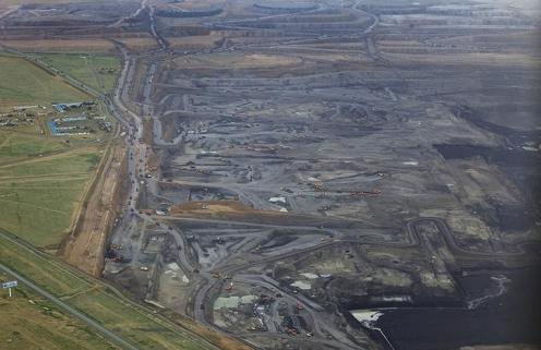 Open-Cast Coal Mine in Inner Mongolia