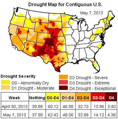 drought map - 7may2013