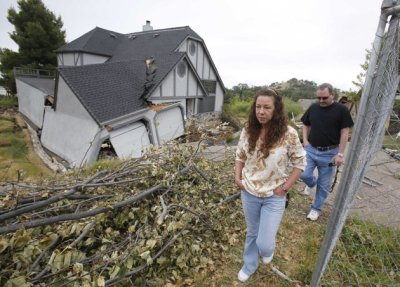 Lake County homes sinking in the ground -AP photo