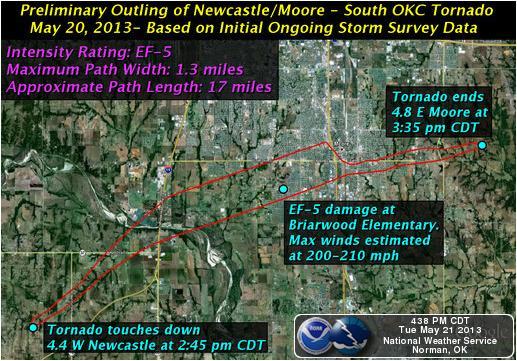 US tornado map Fire Earth