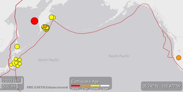Significant quakes - 24may2013