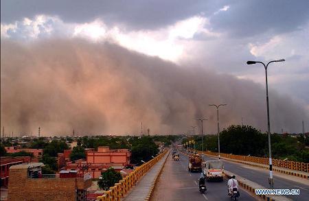 sandstorm  india