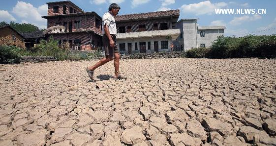 drought in china 27jul2013- 2