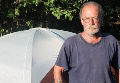 Ken Hills now homeless