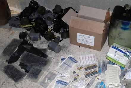chemical weapons used against syrian soldiers