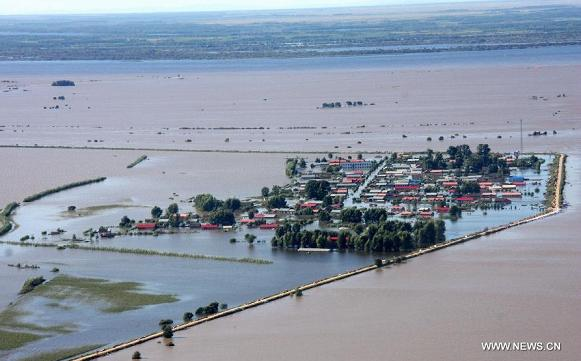 continued flooding in NE China