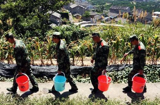 drought in Zhejiang Province -