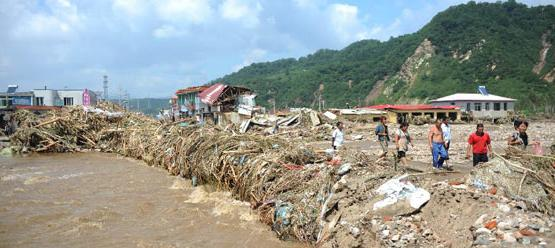 flooding in China -18aug