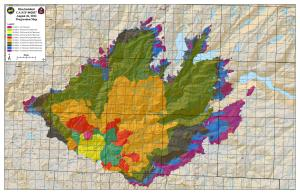 rime fire map 26 aug 2013